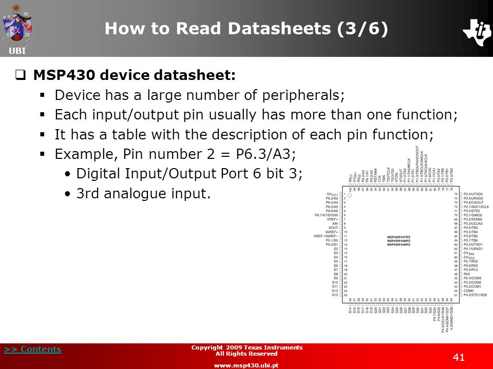 How to Read Datasheets (3/6)