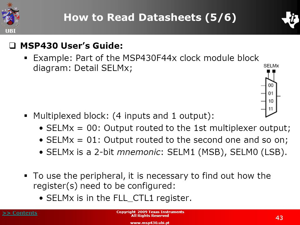 How to Read Datasheets (5/6)