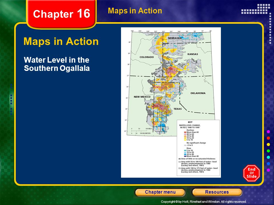 Chapter 16 Maps in Action Maps in Action