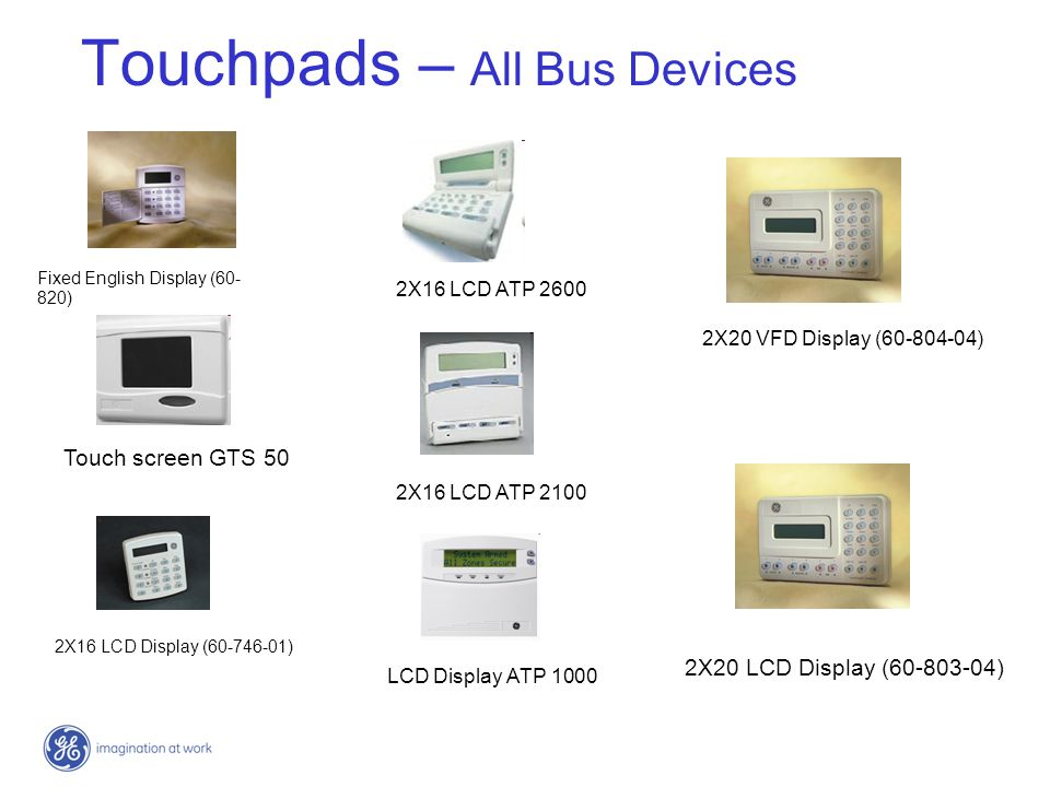Touchpads – All Bus Devices