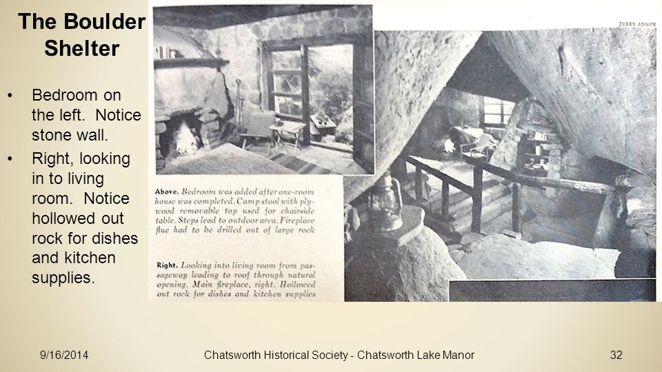 Chatsworth Historical Society - Chatsworth Lake Manor