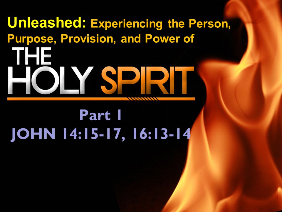 Unleashed: Experiencing the Person, Purpose, Provision, and Power of