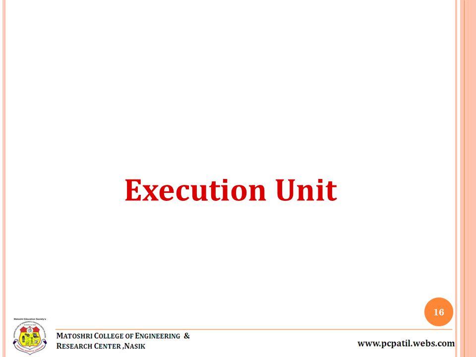 Execution Unit