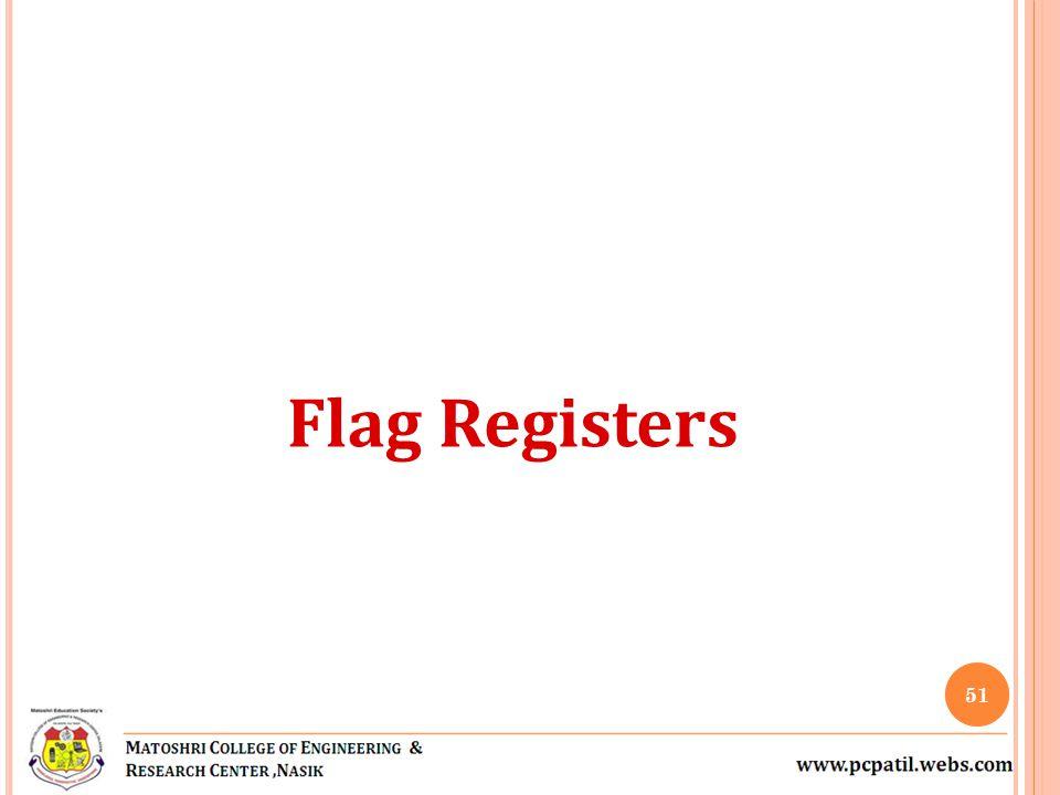 Flag Registers