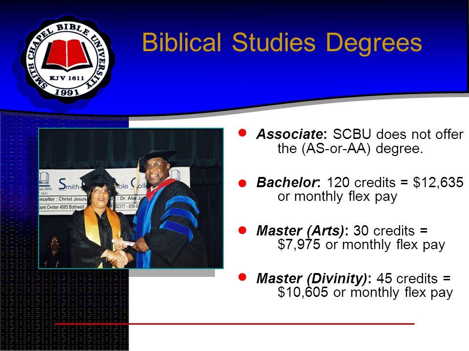Biblical Studies Degrees