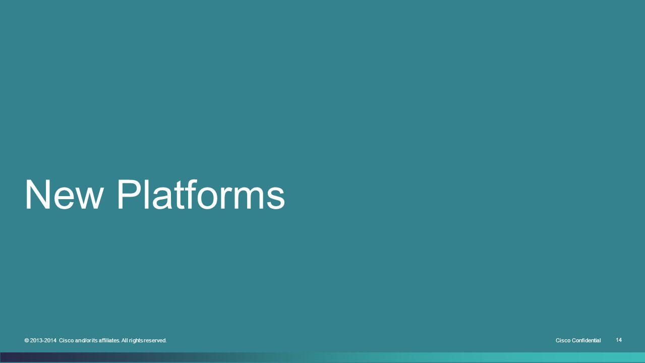 New Platforms