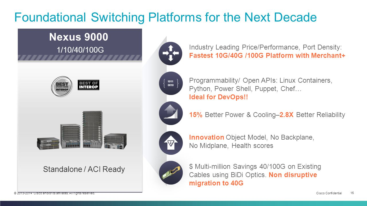 Foundational Switching Platforms for the Next Decade