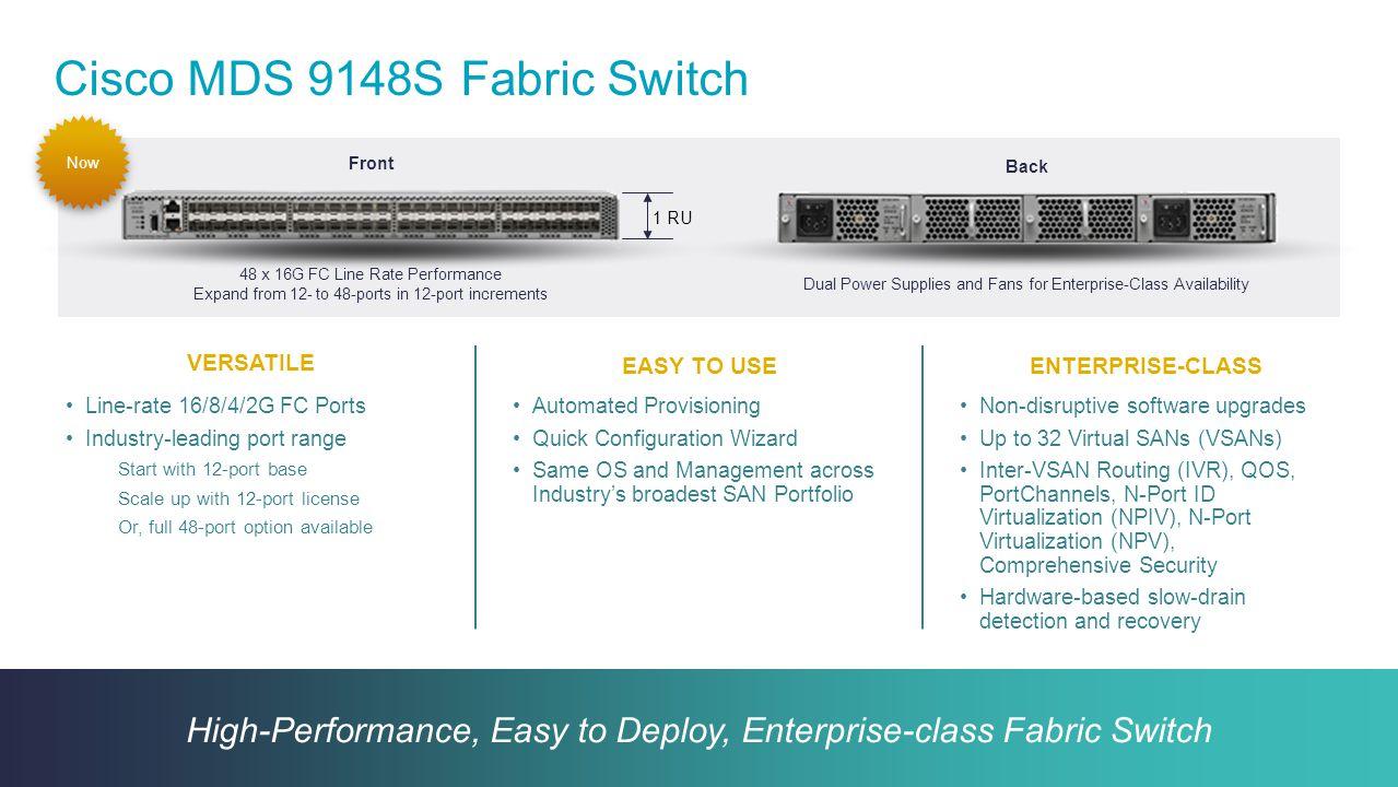 Cisco MDS 9148S Fabric Switch