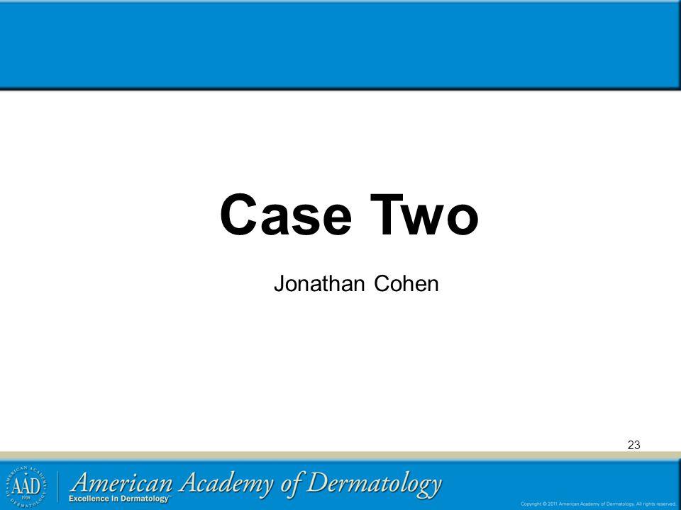 Case Two Jonathan Cohen
