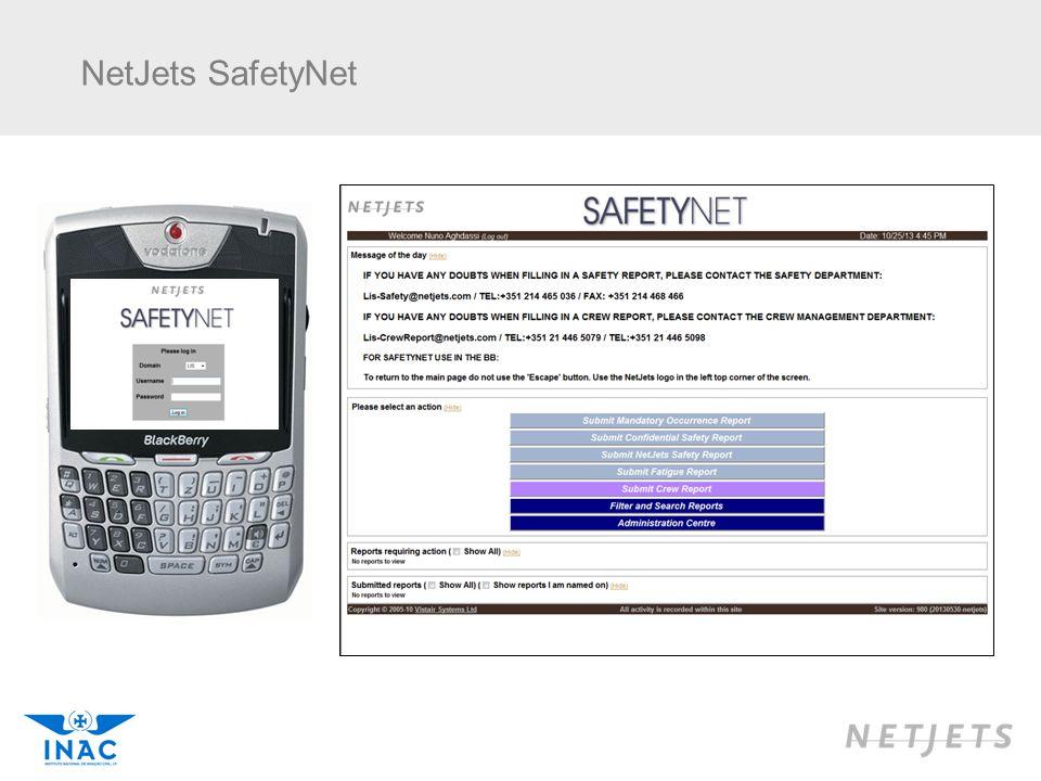 NetJets SafetyNet 18