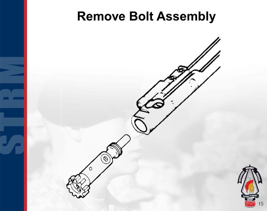 Remove Bolt Assembly