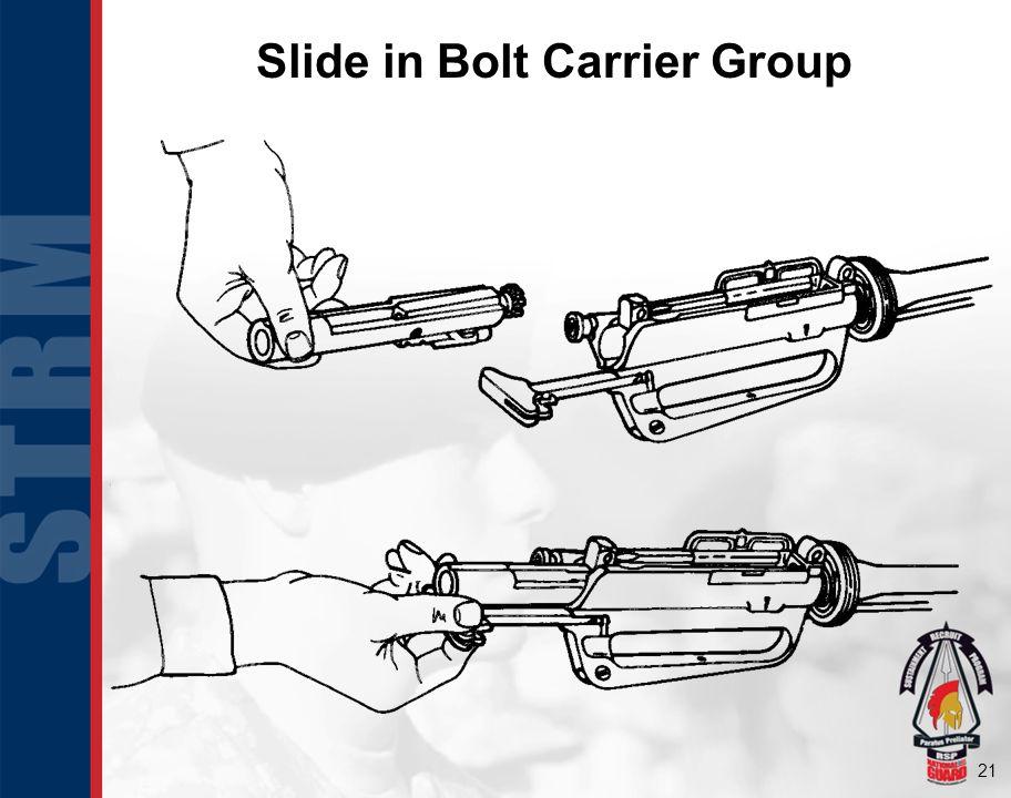 Slide in Bolt Carrier Group