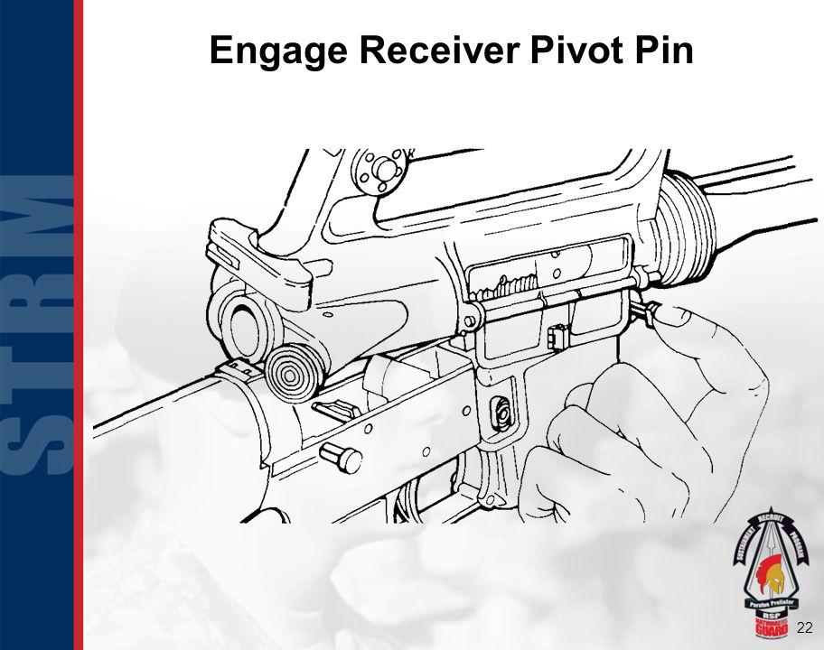 Engage Receiver Pivot Pin