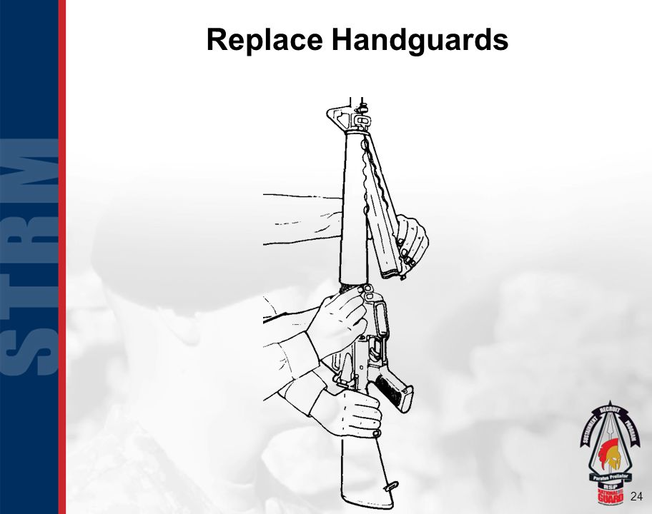 Replace Handguards