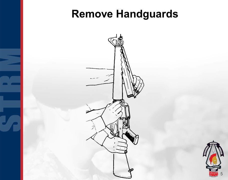 Remove Handguards