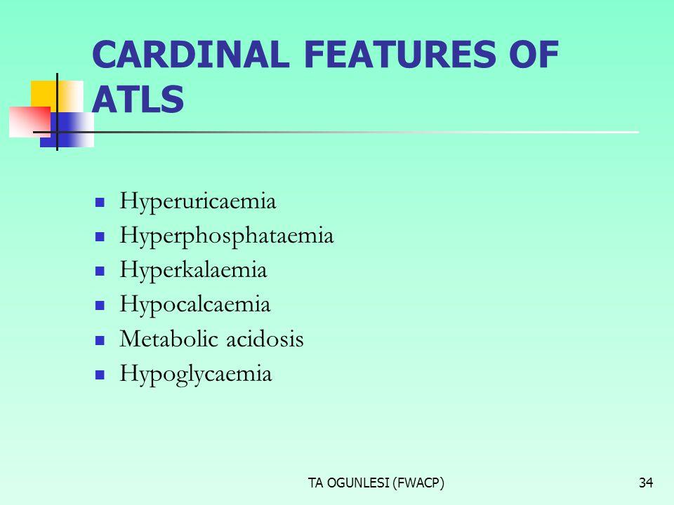 CARDINAL FEATURES OF ATLS