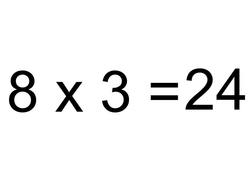 24 8 x 3 =