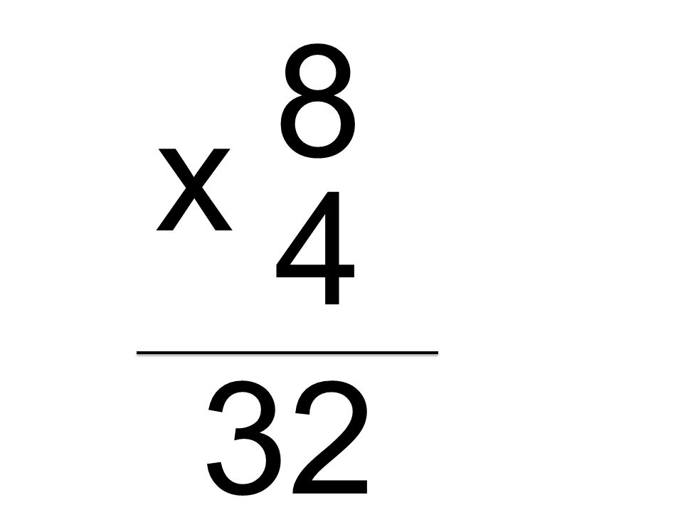 8 x 4 32