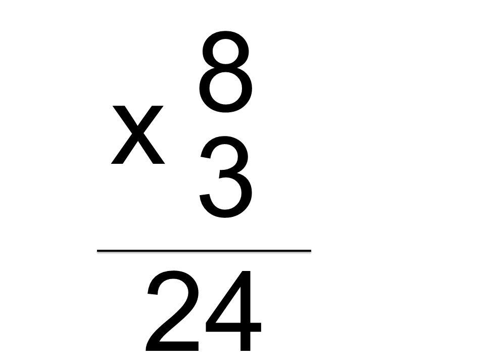 8 x 3 24