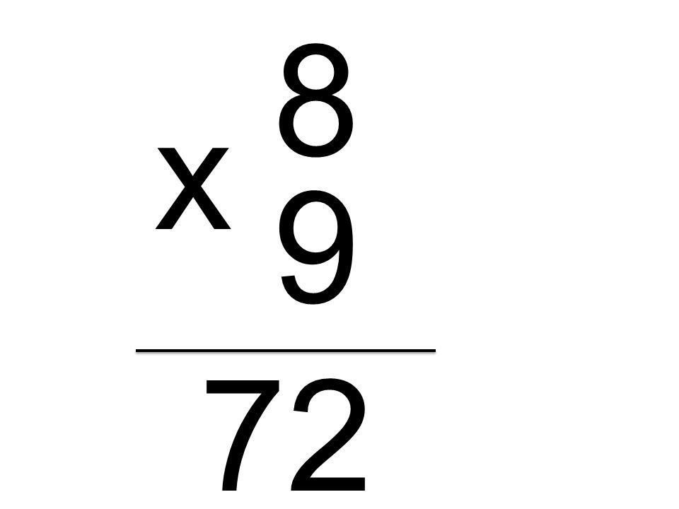 8 x 9 72