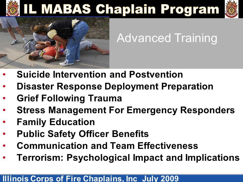 Advanced Training Suicide Intervention and Postvention