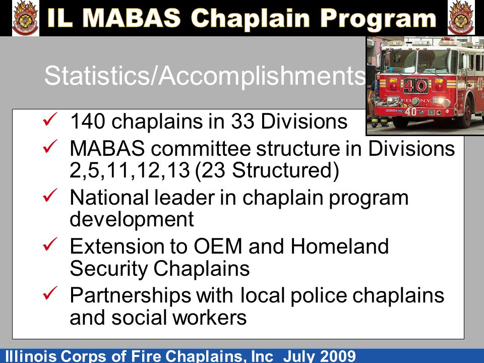 Statistics/Accomplishments