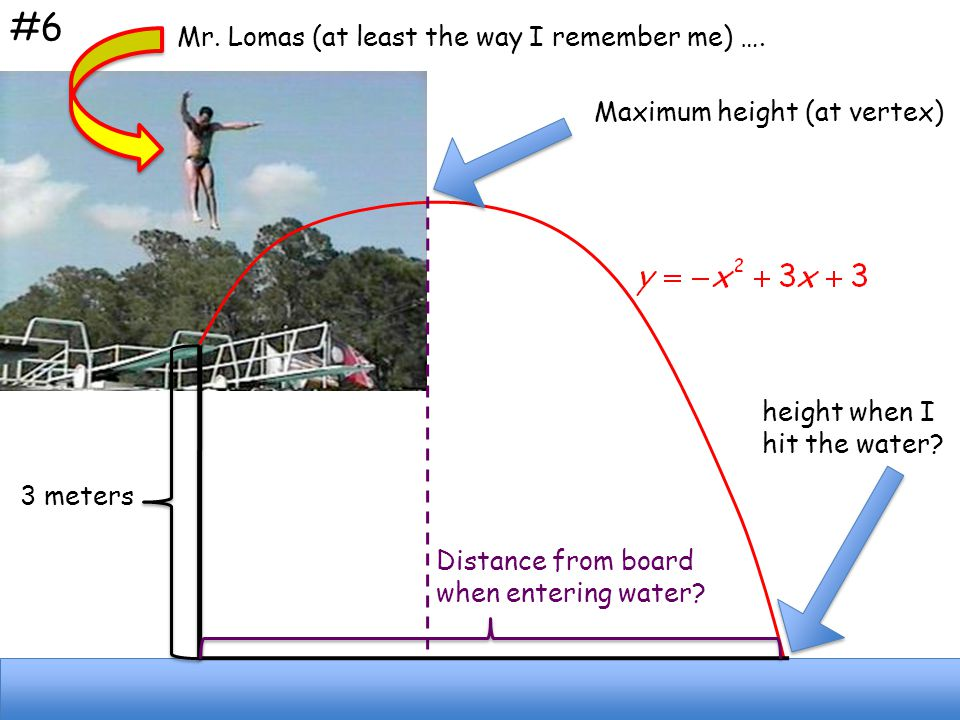 #6 Mr. Lomas (at least the way I remember me) ….