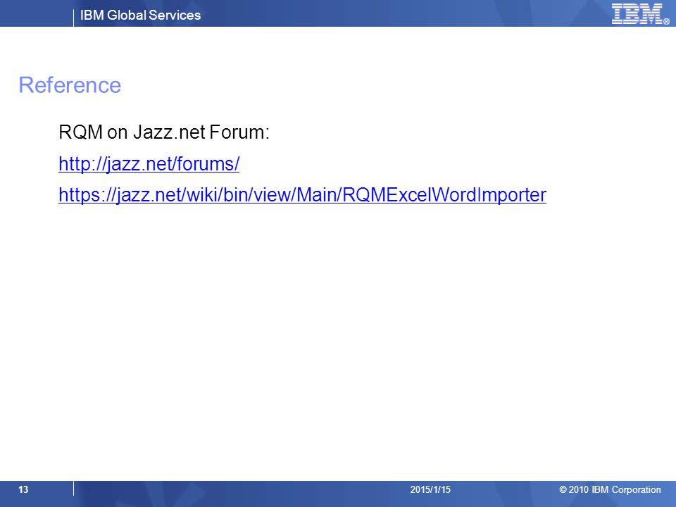 Reference RQM on Jazz.net Forum: http://jazz.net/forums/