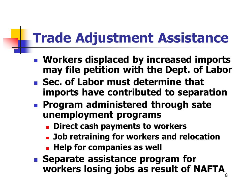 How Do You Apply for Benefits Under the Trade Adjustment Assistance Program?