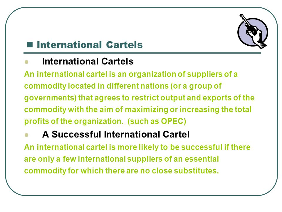 International Cartels