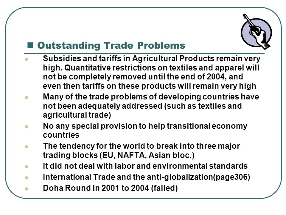 Outstanding Trade Problems