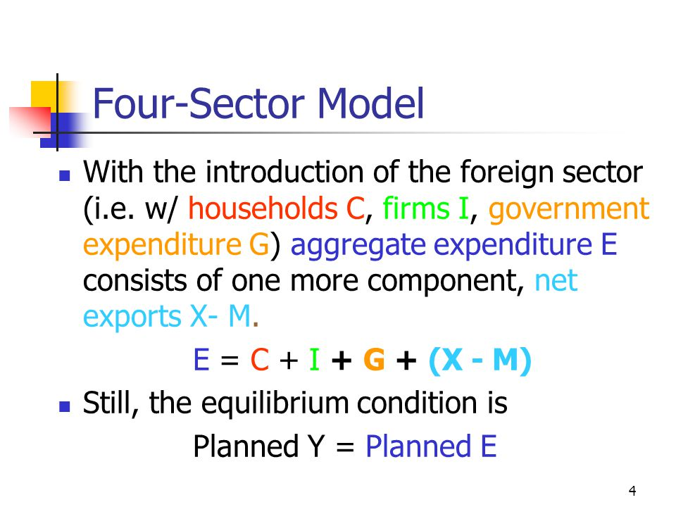 Four-Sector Model