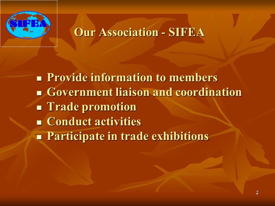 Our Association - SIFEA