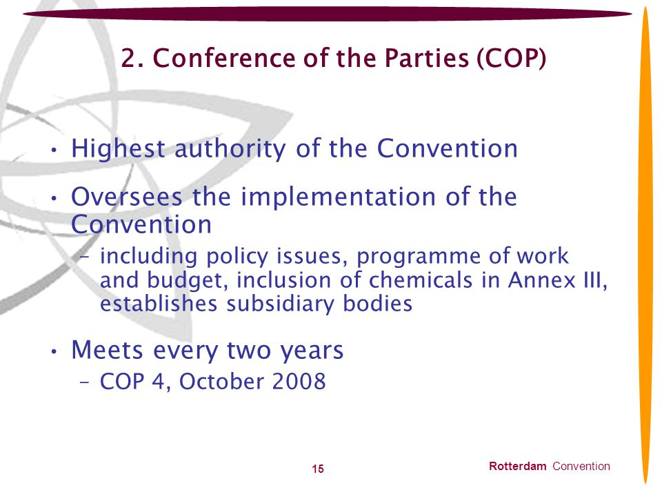 2. Conference of the Parties (COP)