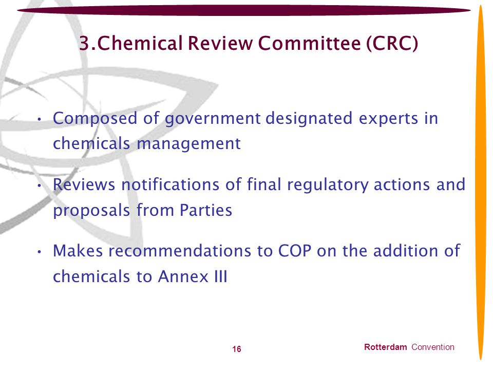 3.Chemical Review Committee (CRC)