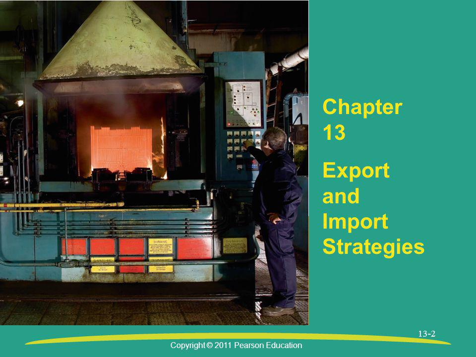 Chapter 13 Export and Import Strategies
