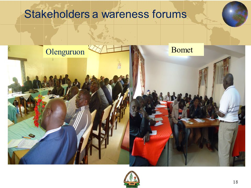 Stakeholders a wareness forums