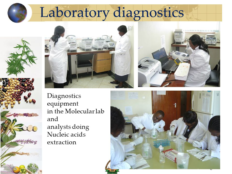 Laboratory diagnostics