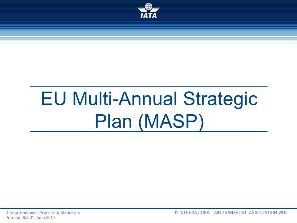 EU Multi-Annual Strategic Plan (MASP)