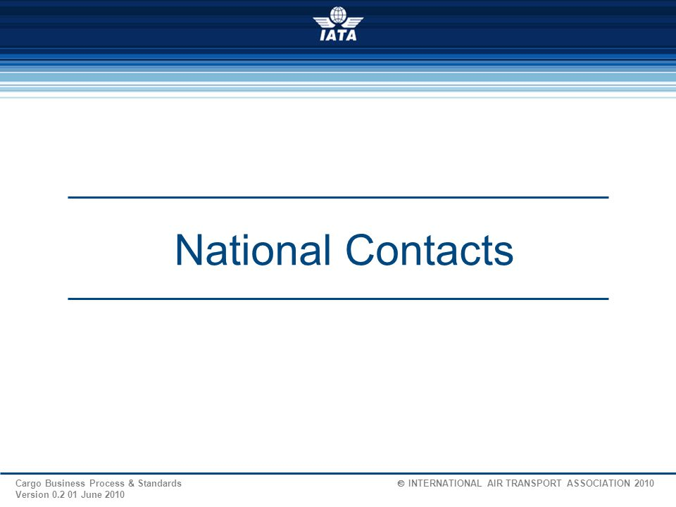 National Contacts