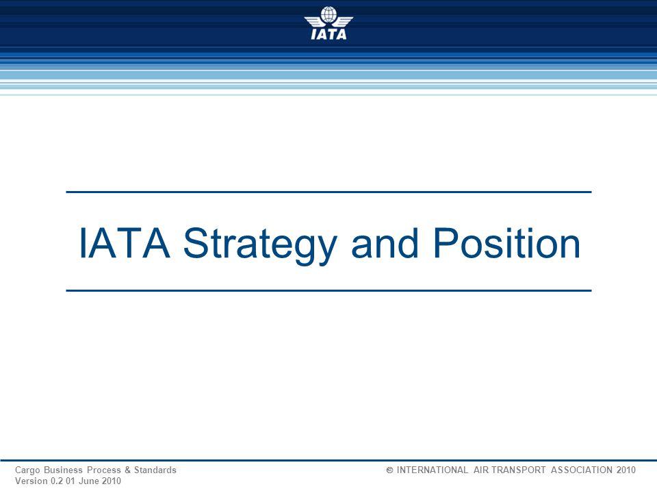 IATA Strategy and Position