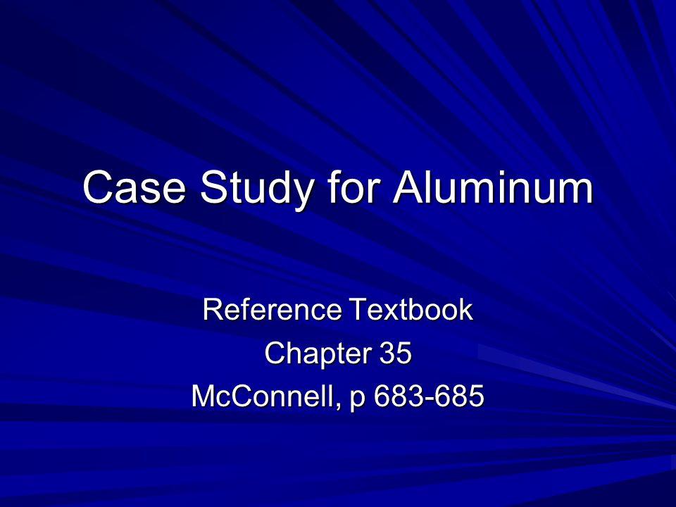 Case Study for Aluminum