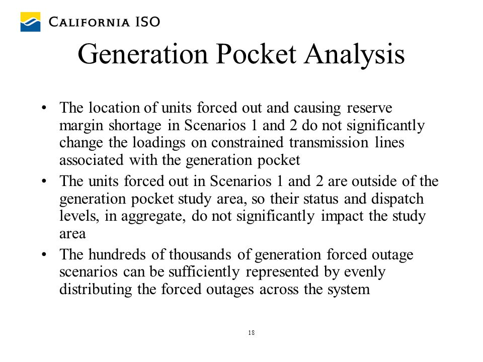 Generation Pocket Analysis