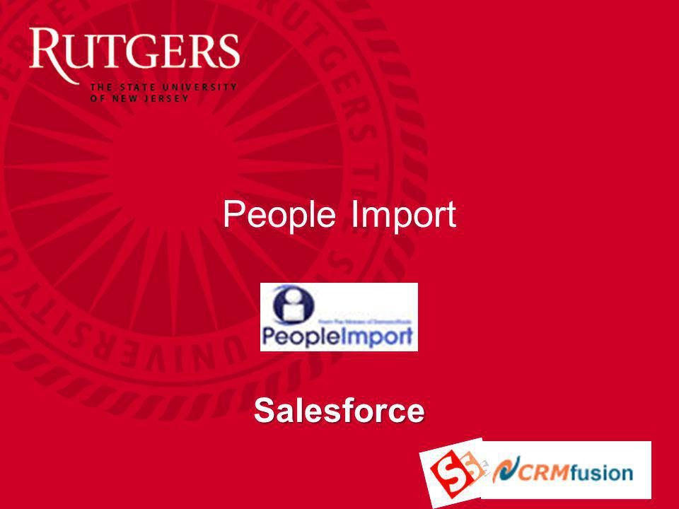 People Import Salesforce