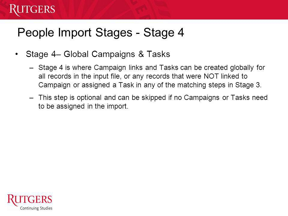 People Import Stages - Stage 4