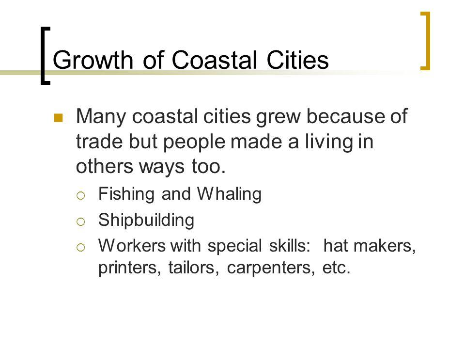 Growth of Coastal Cities