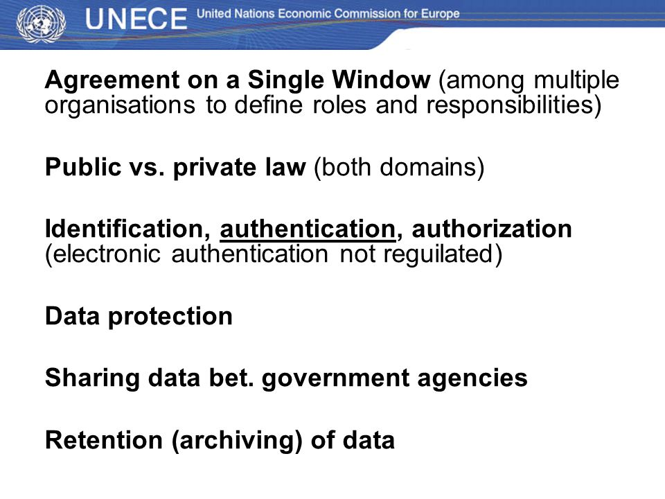 Public vs. private law (both domains)
