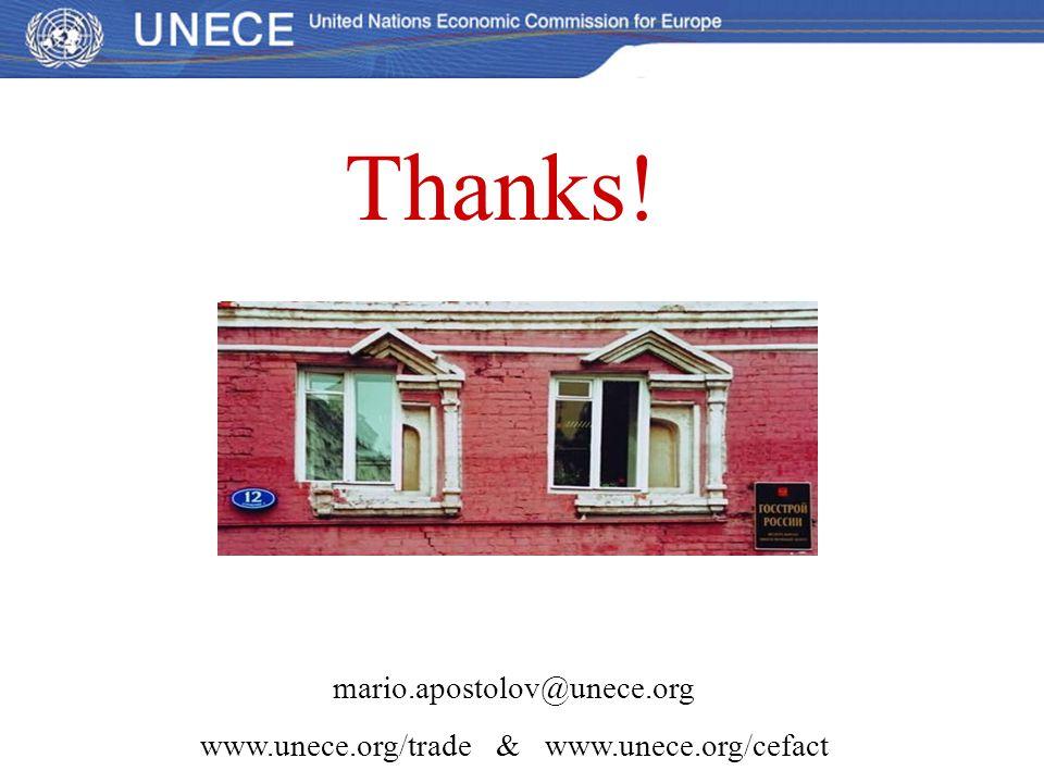 www.unece.org/trade & www.unece.org/cefact