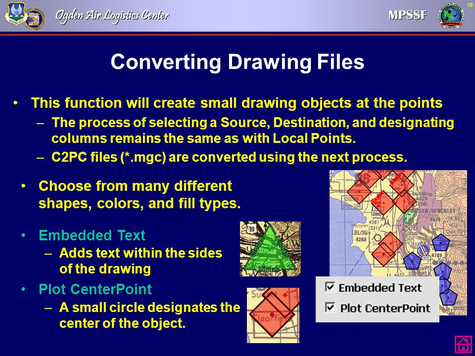 Converting Drawing Files