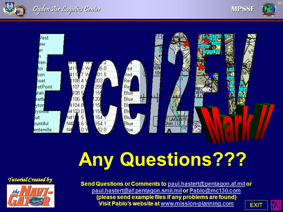 Any Questions Mark II Tutorial Created by